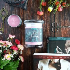 Audrey Rose // Stalking Jack the Ripper or Hunting Prince Dracula Candle // 8oz Jar Scented Soy Candle