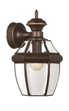 """Patriot Lighting® Carriage 14"""" Antique Copper 1-Light Outdoor Wall Light"""