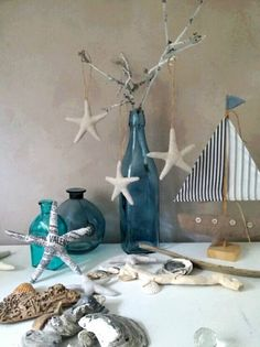 Nautical Christmas, Ceramic Christmas Trees, Primitive Christmas, Christmas Makes, Red Christmas, Christmas Ornaments, Pallette, Scandinavian Christmas Decorations, Holiday Decorations