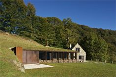 extension-of-a-barn-in-pyrenees - Puig Pujol Architectures,Toulouse