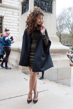 Pin for Later: See All the Best Street Style From LFW LFW Street Style Day 2