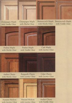 oak kitchen cabinet stain colors : popular kitchen cabinet stain