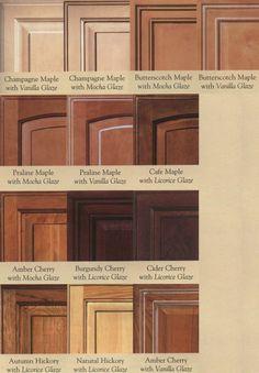 Wood Door Glazing Examples @ Cabinet Doors Depot: Maple Kitchen Cabinets,  Kitchen Cabinet Colors