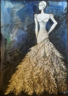 Makány Márta sketches from collection 2014 Fashion Sketches, Cinderella, Disney Characters, Fictional Characters, Journey, Disney Princess, Collection, Design, Art