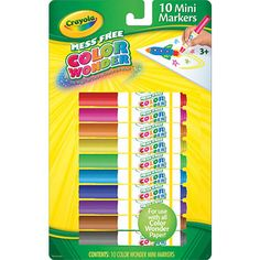"Crayola Color Wonder 10 Count Mini Markers -  Crayola - Toys""R""Us"