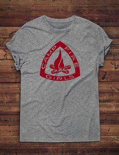 42e6ce094 Campfire Girls Feminist Shirt: Unisex T-Shirt Girl Scout | Etsy Campfire  Girls,