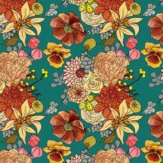 Katie Vernon Floral Patterns