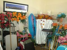 Before organizing wedding room