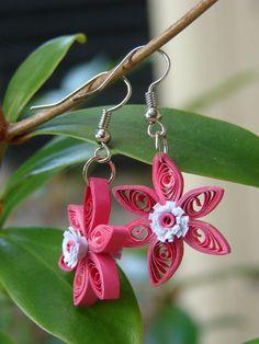 Fringe Flower Earrings