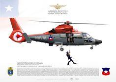 SERVICIO DE AVIACIÓN NAVAL DE LA ARMADA DE CHILE ESCUADRÓN DE HELICÓPTEROS DE PROPÓSITOS GENERALES HU-1 DESTACAMENTO AERONAVAL TALCAHUANO FHU-1
