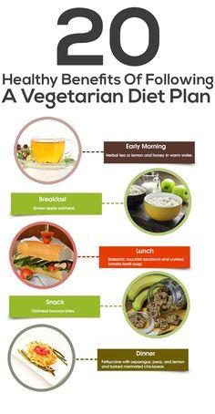 20 Health Benefits Of Following A Vegetarian Diet Plan