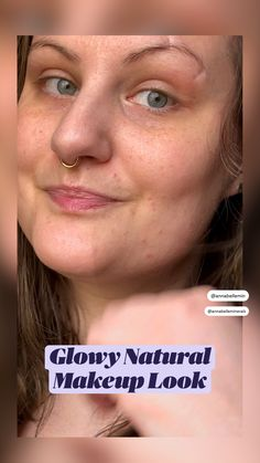 Natural Makeup Looks, Simple Makeup, Natural Looks, Mineral Eyeshadow, Mineral Foundation, Cruelty Free Makeup, Makeup For Brown Eyes, Makeup Routine, Makeup Inspiration