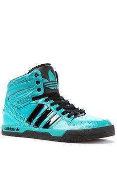 adidas The Court Attitude Sneaker in Blast Emerald & Black