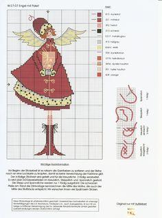 Новогодние ангелы (немецкий дизайн). Обсуждение на LiveInternet - Российский Сервис Онлайн-Дневников