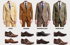 Porque no hay nada más atractivo que un hombre que se sepa vestir bien. Guías visuales de estilo que todo hombre necesita en su vida.