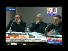 Líderes del Vaticano ofrecen primera rueda de prensa tras la elección nu...