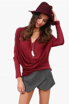 Tops for Women | Shop a Variety of Affordable Tops.   Love the color good for fall.