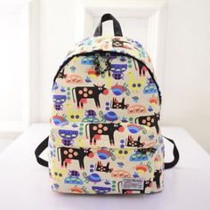 Colourful  Backpack cow