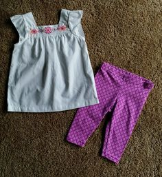 f2dde0499484 NEW Baby Girl 2 pieces set lot Size 18 months Carter s (Very nice set)