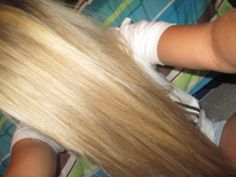 Wish I could be this blonde :(