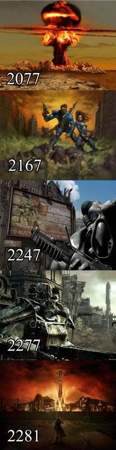 Fallout, the best nuclear apocalypse simulator.