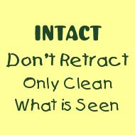 Many foreskin problems occur because of forced retraction!  Please don't retract!!