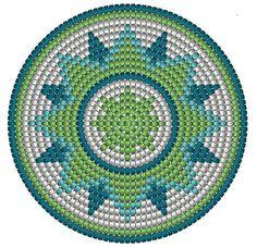 Wayuu wzór do torby w indiańskim stylu