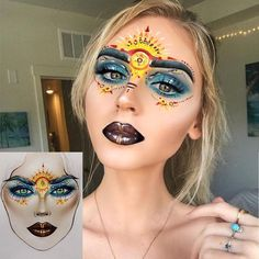"""17.1k Likes, 112 Comments - Sergey X (@milk1422) on Instagram: """"#artistmilk1422 #artist @sadie.shill_makeup ✨The makeup is stunning! It's perfect  thank you so…"""""""