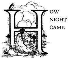 How Night Came - Brazilian Fairy Tales