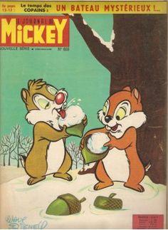 Tic et Tac dans le journal de Mickey 1964