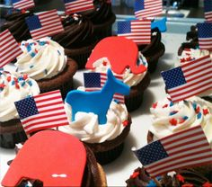 Elections cupcakes