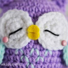 complete owl face