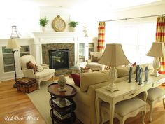 Like the fireplace and bookcases for our assymetrical fireplace in the living room.
