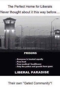 Hmmm . . . Very fitting. And, it's true. I've worked in the prison system. We controlled everything . . . Down to the issuance of toilet paper.
