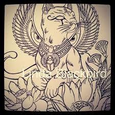 Resultado de imagem para deusa bastet tatuagem