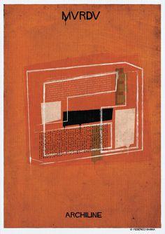 Federico Babina's ARCHILINE Paints the Essence of Architecture's Greatest Works,© Federico Babina