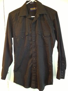 Hey, I found this really awesome Etsy listing at http://www.etsy.com/listing/150281639/western-style-mens-cowboy-shirt-black