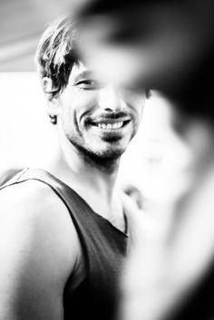 Andres Velencoso | Josep Abril 0802014 backstage via Lydia Cazorla