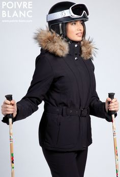Préparez l'hiver avec la nouvelle collection Poivre Blanc - Look # 11 (Veste ski stretch avec découpes verticales. Pantalon ski stretch. / Stretch ski jacket with vertical yokes. Stretch ski pants.)