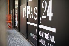 Tapas 24 Montreal Tapas, Company Logo, Tech Companies, Bonjour