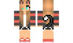 minecraft skin Cat-Gamer-Girl Find it with our new Android Minecraft Skins App: https://play.google.com/store/apps/details?id=studio.kactus.girlskins