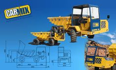 Carmix Dumper  The carmix dumper also available from ACEPL has a load capacity of up to 1362 gallons when properly heaped. Visit at http://apollocarmix.com/products/carmix-dumper-d6/