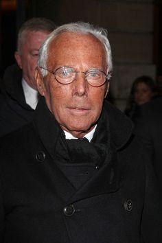 Giorgio Armani Photo - Celebs at the Armani Fashion Show
