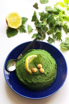 Recept på nässelhummus   HungryHeart.se