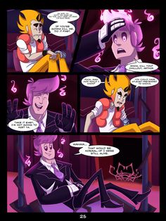 The Mystery Skulls Misadventures: 'Wounds' pg25 by Anastas-C