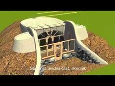 Earthship-Reynolds: Simple survival model earthship - YouTube