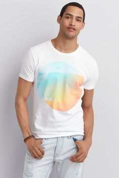 AEO Signature Graphic T-Shirt  by AEO | Show off your signature