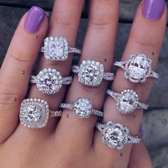 top 10 engagement ring The band on ring 4! Love!