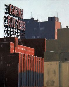 """Farine Five Roses, oil on canvas, 24"""" x 30"""" by David Kelavey"""