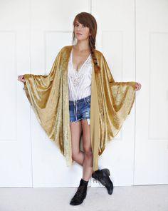 LOVE THIS! OMBRE SEQUIN KIMONO Price: £58.00 Colour: GOLD | Style ...